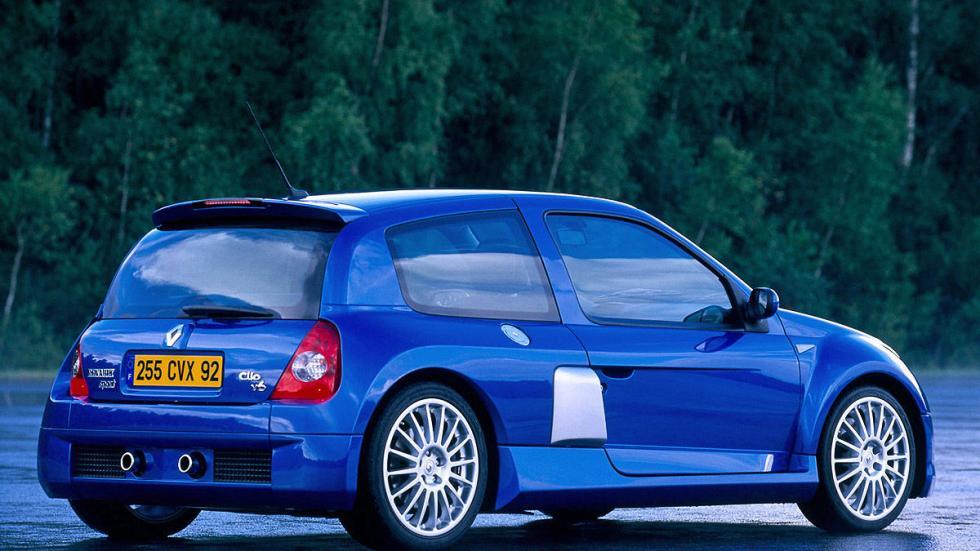 El Clio-V6 2002 fue un homenaje. Con  254 CV.