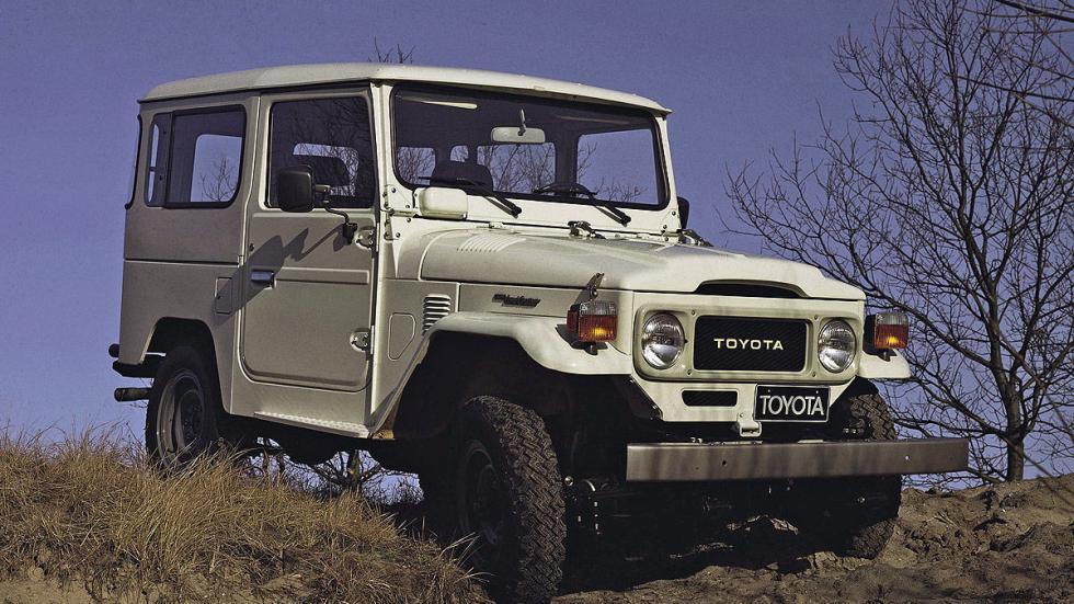 El Toyota FJ4 se produjo entre 1960 y 1986.