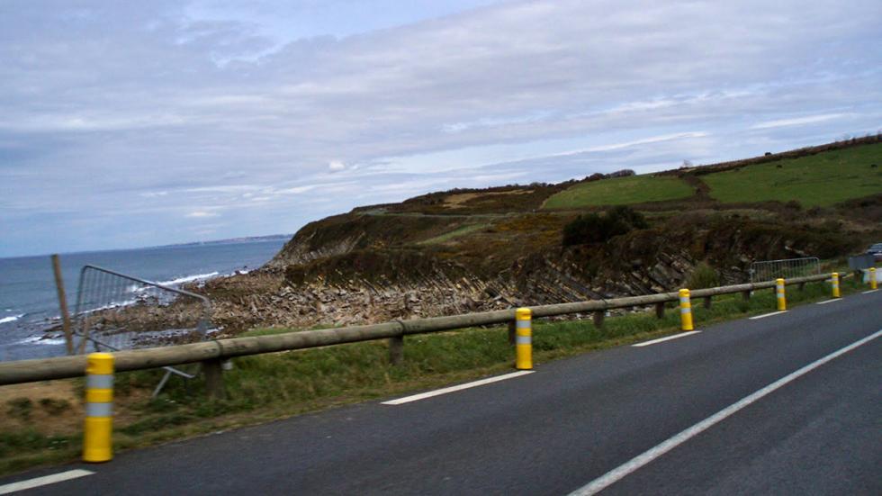 Carretera Zumaia Zarauz