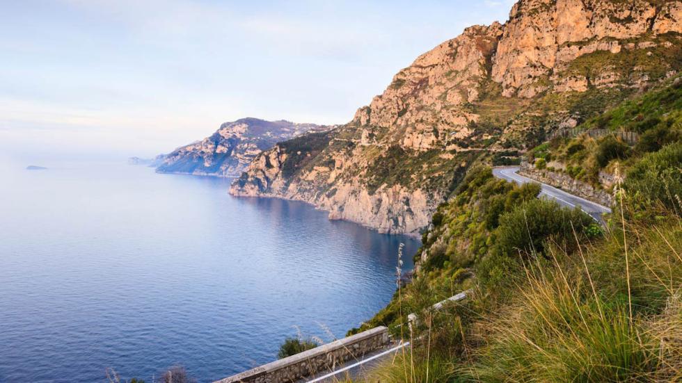 8 mejores carreteras mundo ruta de la Costa Amalfitana Italia