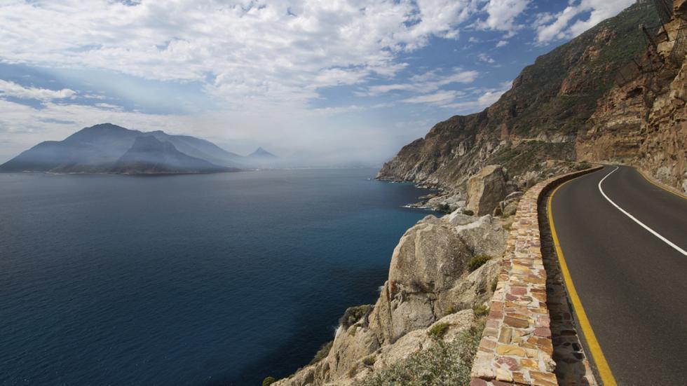 8 mejores carreteras costa mundo ruta del pico de Chapman Sudáfrica