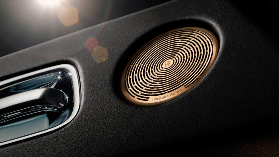 Rolls-Royce inspired by music altavoces