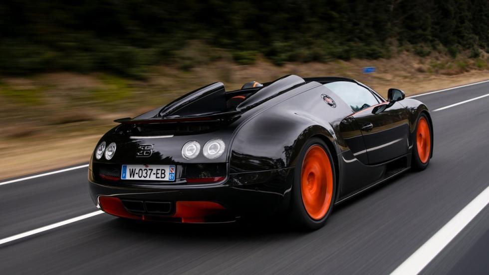 Bugatti Veyron Vitesse trasera