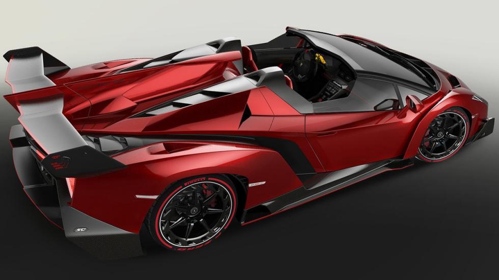 Lamborghini Veneno Roadster cenital