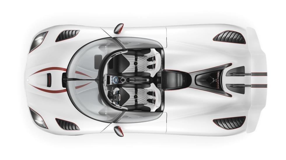Koenigsegg Agera R cenital