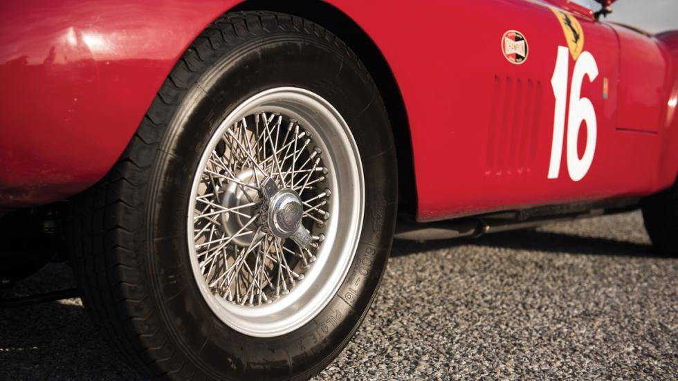 Ferrari 275S/340 barchetta subasta llantas