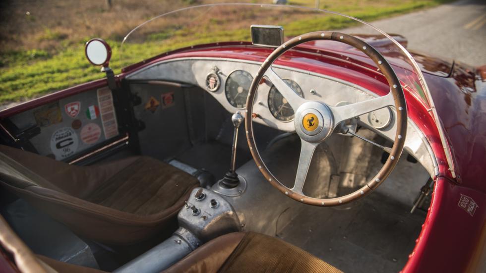 Ferrari 275S/340 barchetta subasta interior