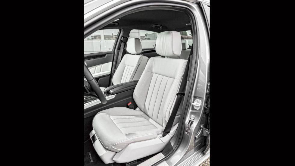 Mercedes Clase E plazas delanteras