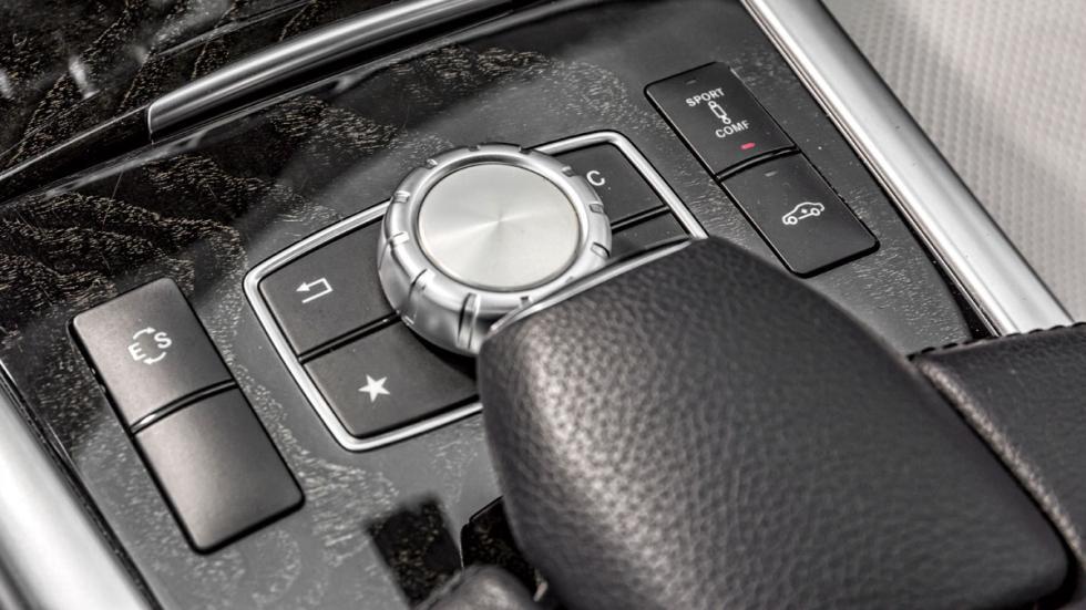 Mercedes Clase E botones