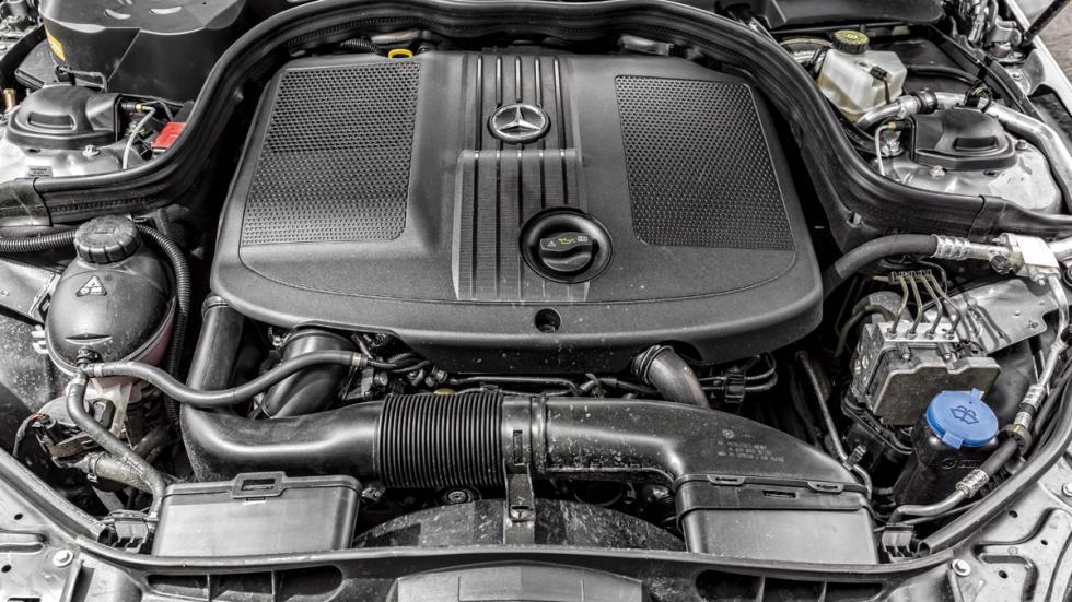 Mercedes Clase E motor