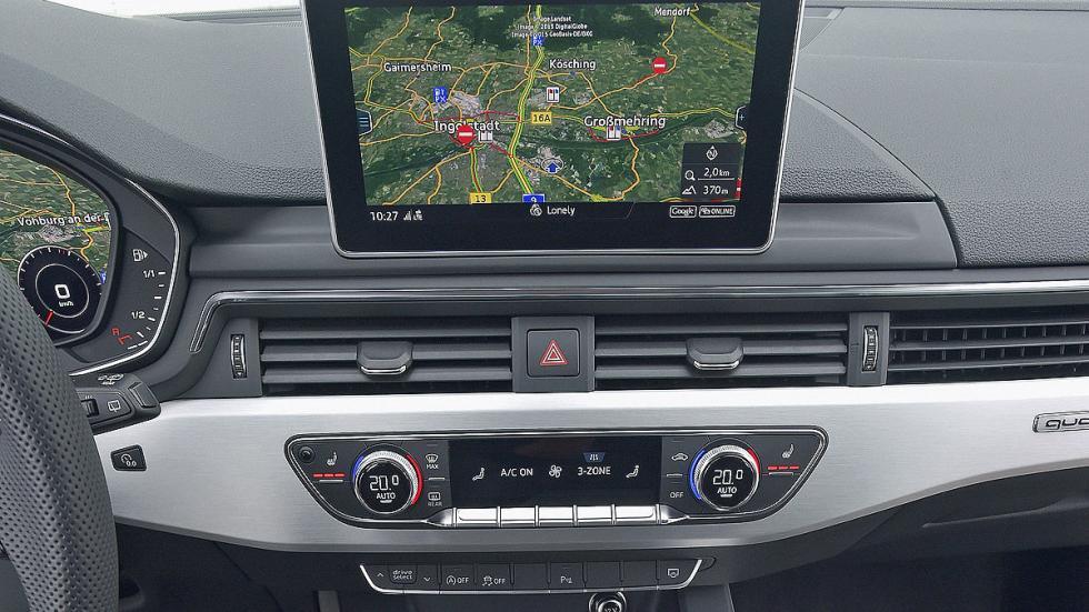 Audi A4 Avant interior pantalla