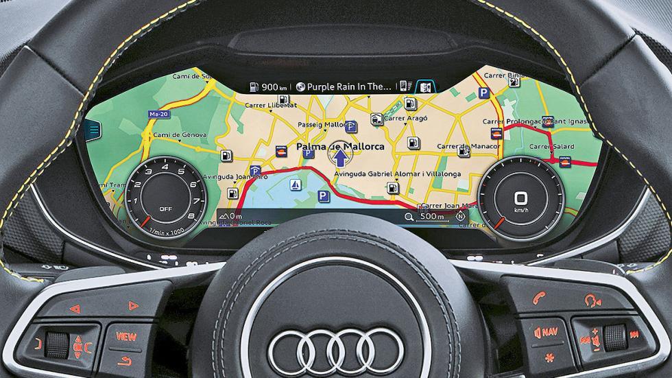 Audi A4 Avant interior relojes