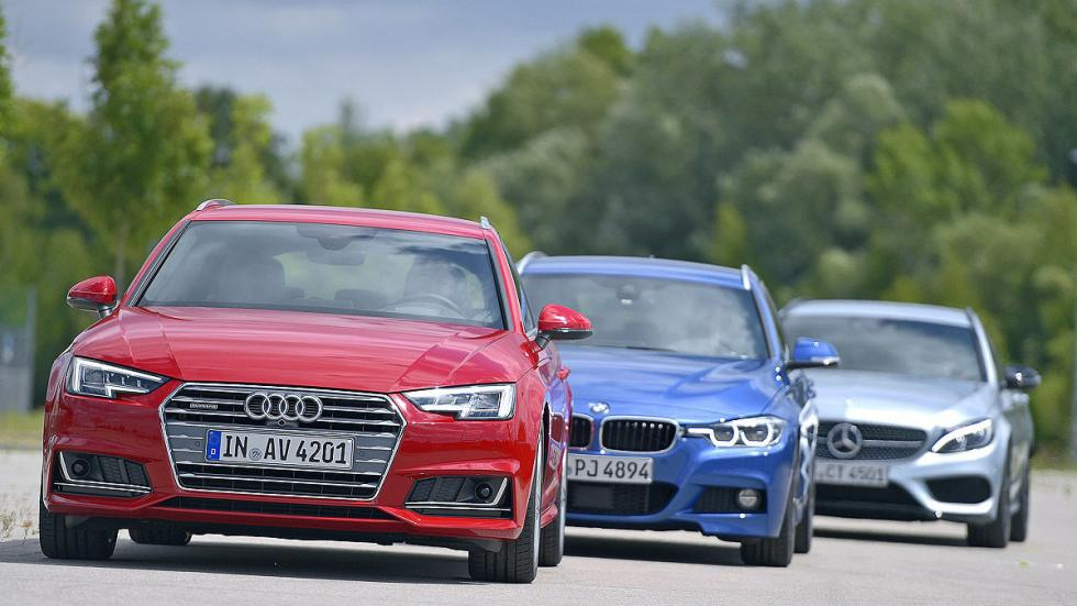 BMW Serie 3 Touring vs. Audi A4 Avant vs. Mercedes C Estate morros