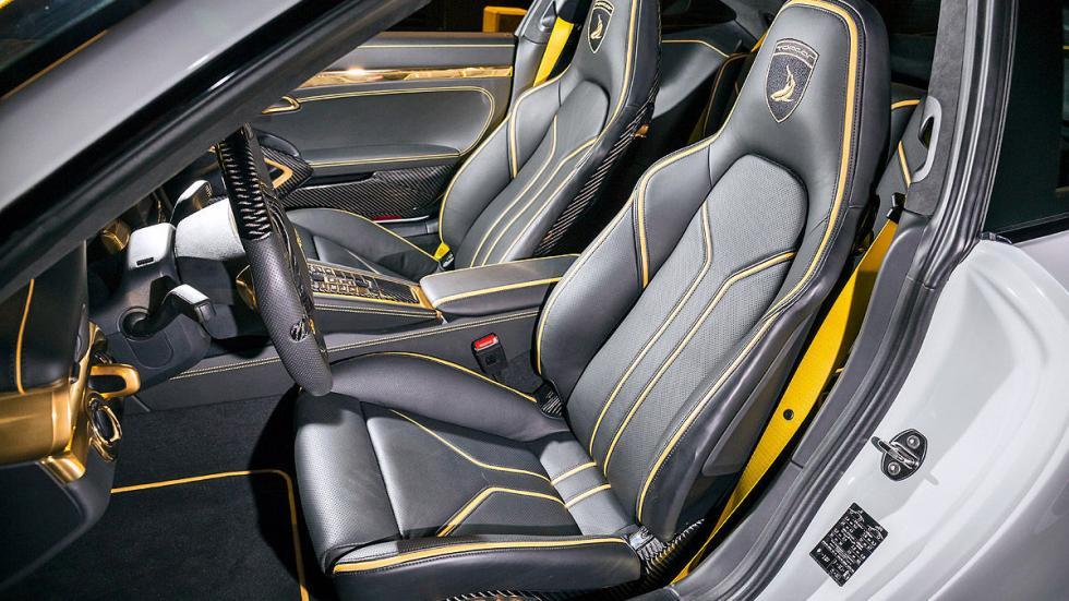 Prueba: Topcar 911 Turbo Stinger GTR asientos