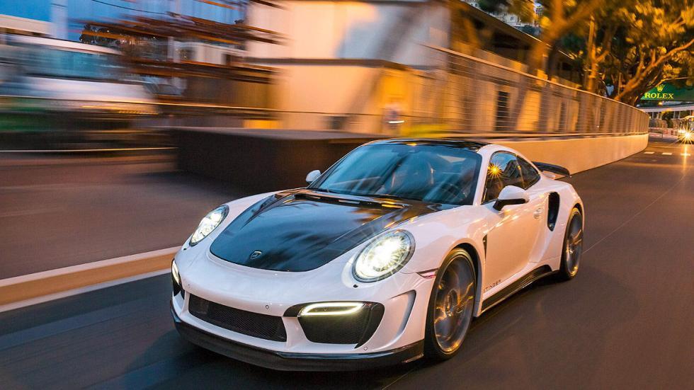 Prueba: Topcar 911 Turbo Stinger GTR dinámica