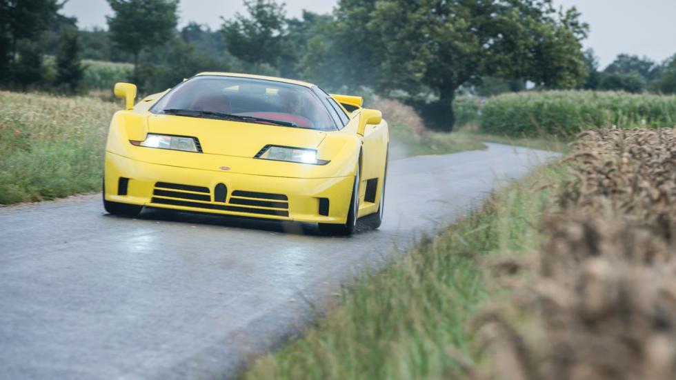 Bugatti EB110 SS frontal