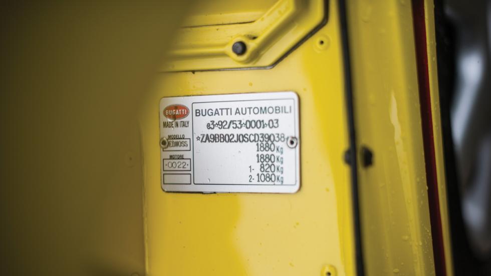 Bugatti EB110 SS chasis