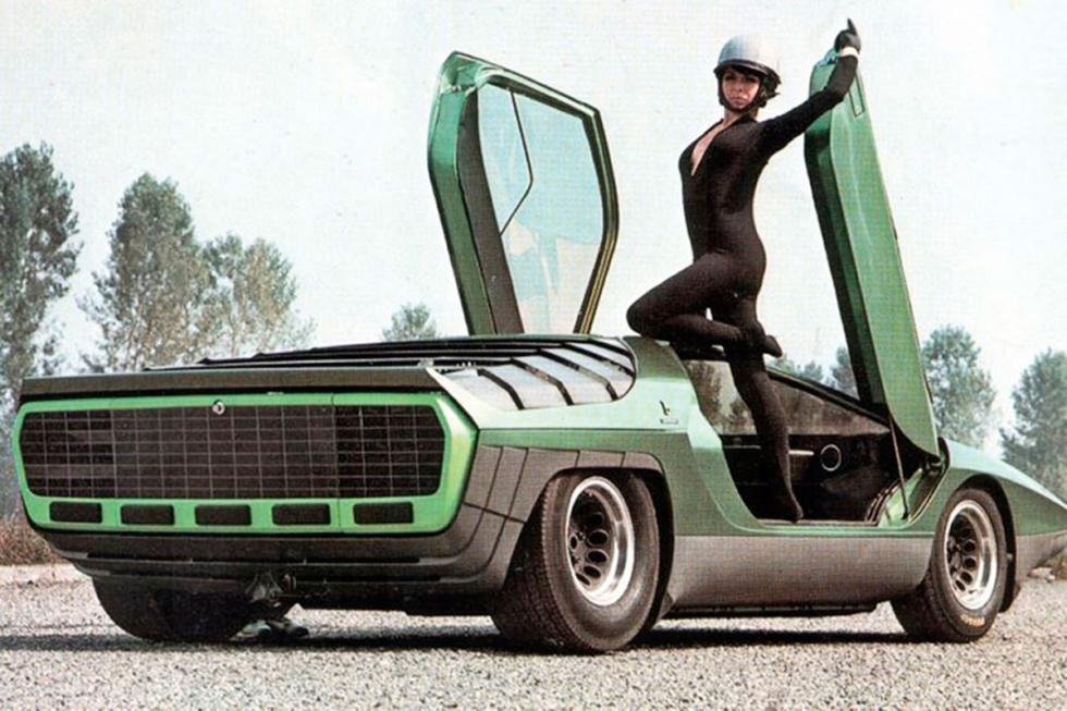 Alfa Romeo Carabo trasera