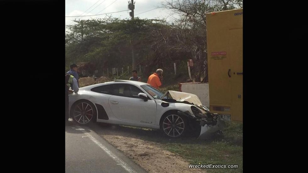 porsche 911 accidente colombia