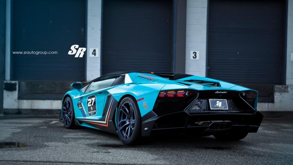 Lamborghini Aventador SR trasera