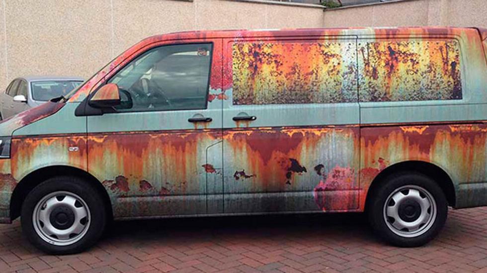 VW Multivan chatarra