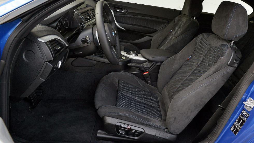 BMW M135i asientos