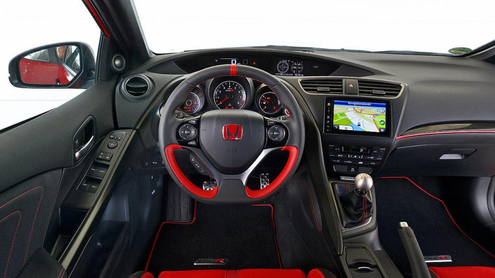 Honda Civic Type R llanta volante