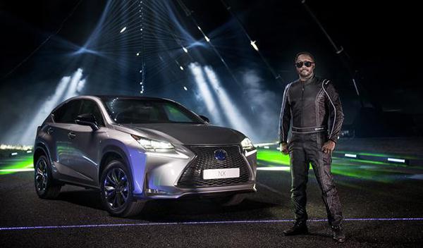 Lexus NX y will.i.am