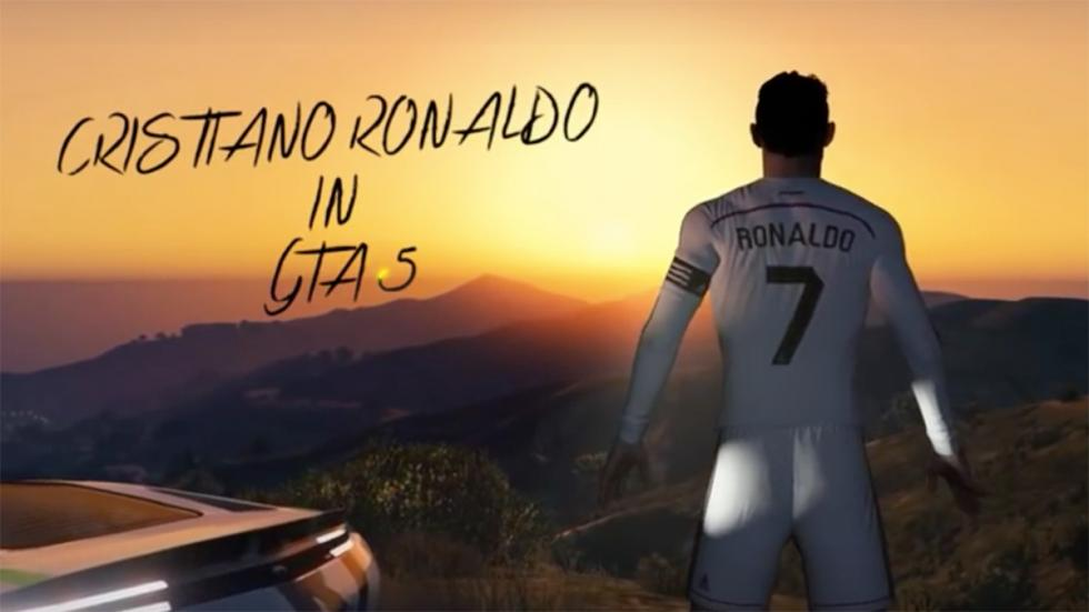 Cristiano Ronaldo en GTA V