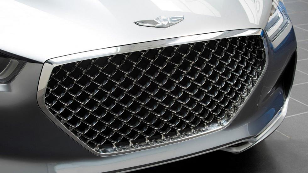Hyundai Vision G Concept Coupe parrilla