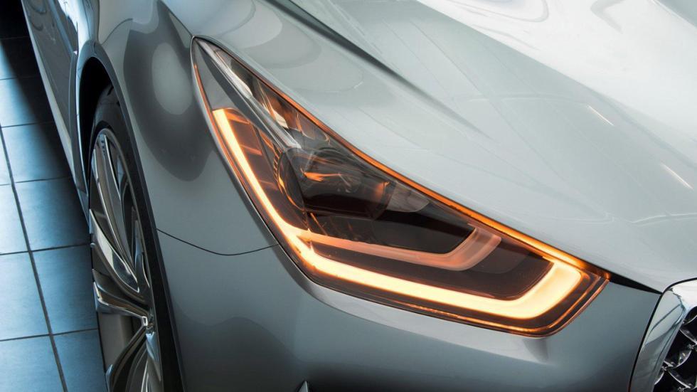 Hyundai Vision G Concept Coupe faros