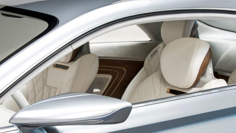 Hyundai Vision G Concept Coupe detalle interior