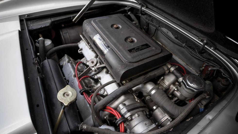 subasta Ferrari Dino 246 GTS 1974 motor