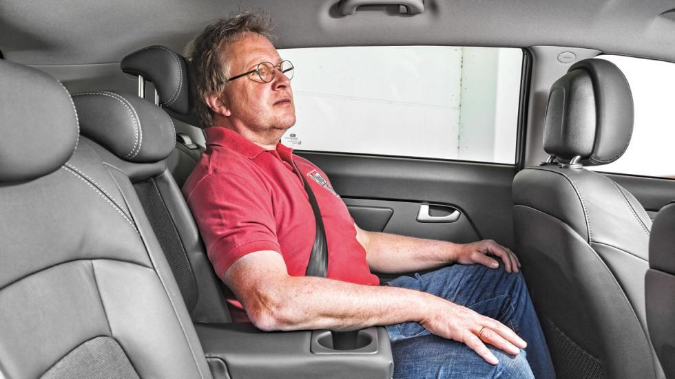 Kia Sportage asientos traseros