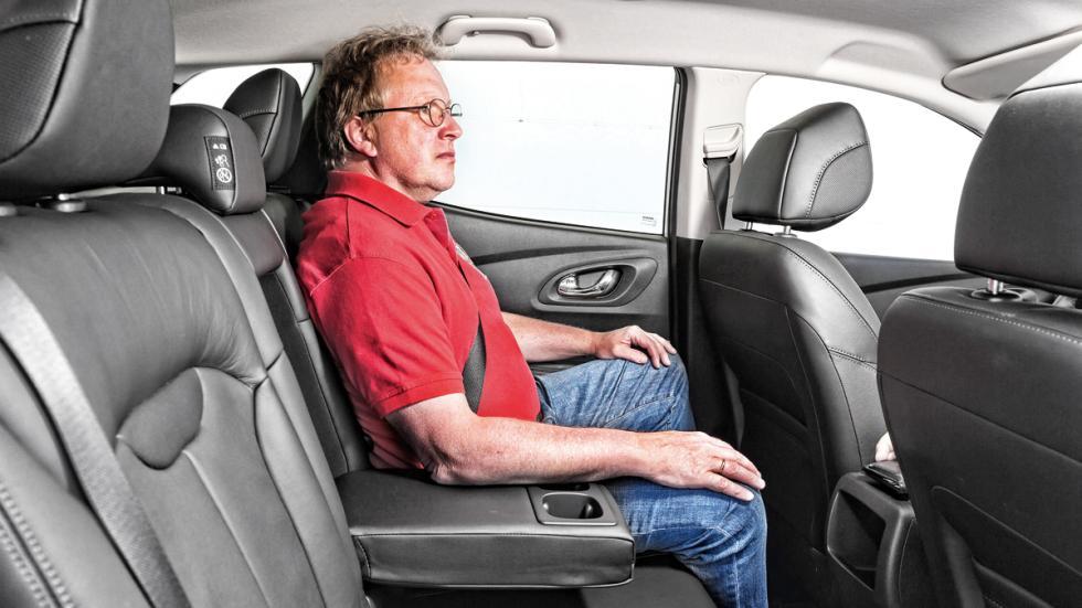 Renaul Kadjar asientos traseros