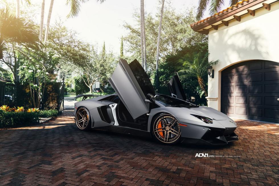 Lamborghini Aventador Novitec ADV1 lateral