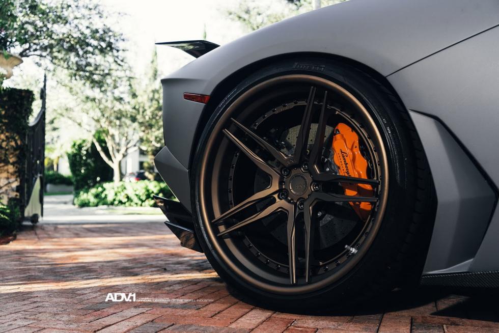 Lamborghini Aventador Novitec ADV1 llantas