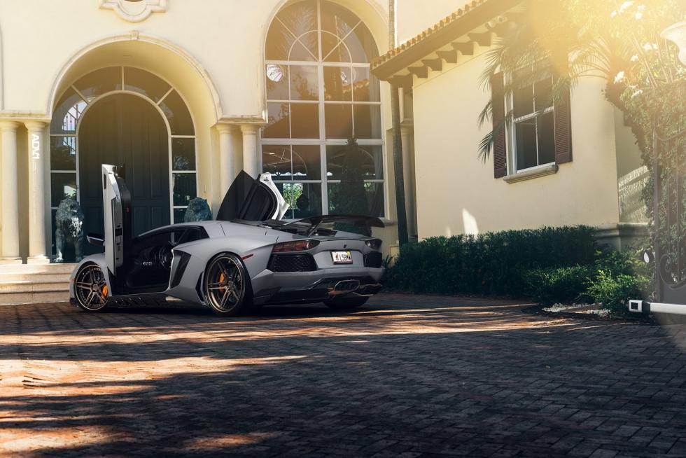 Lamborghini Aventador Novitec ADV1 trasera