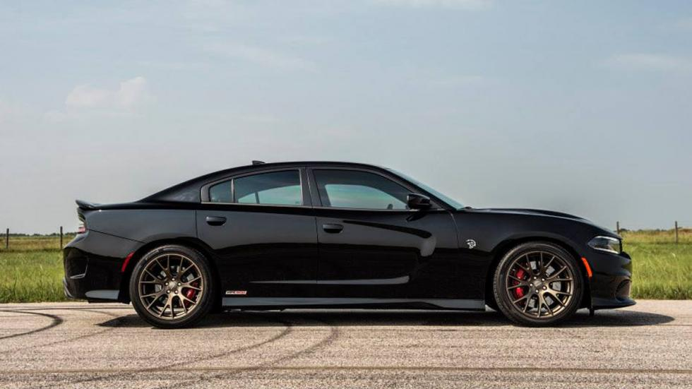 Dodge Charger Hellcat Hennessey lateral