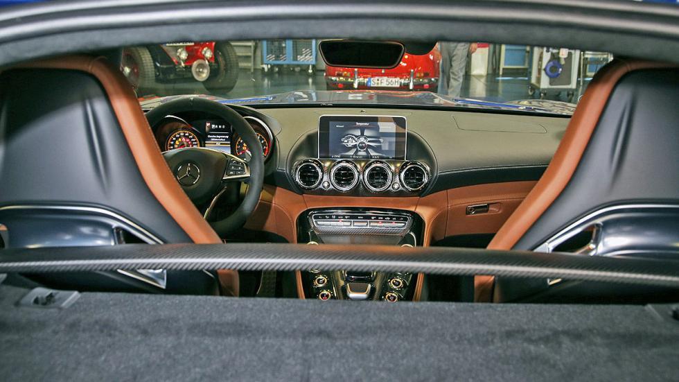 AMG GT S asientos