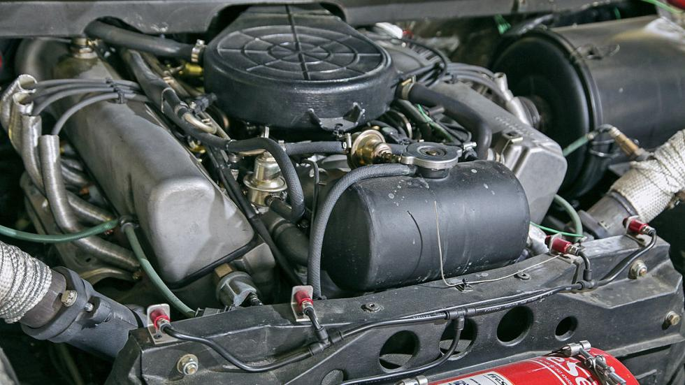 Mercedes C 111 motor