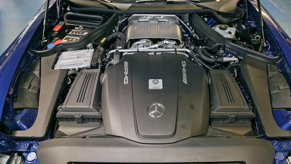 AMG GT S motor