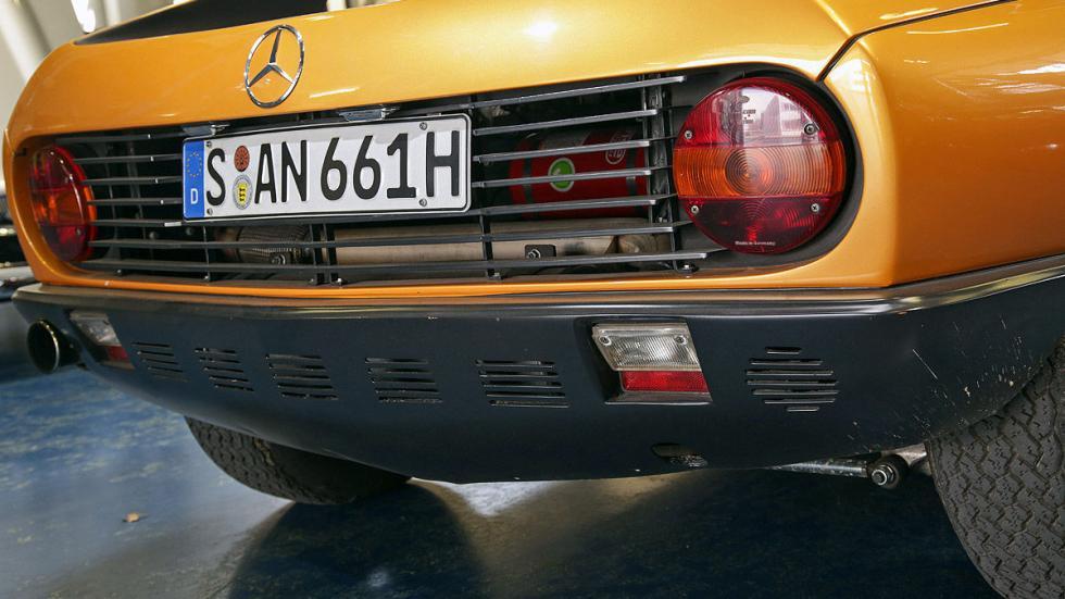 Mercedes C 111 interior pilotos