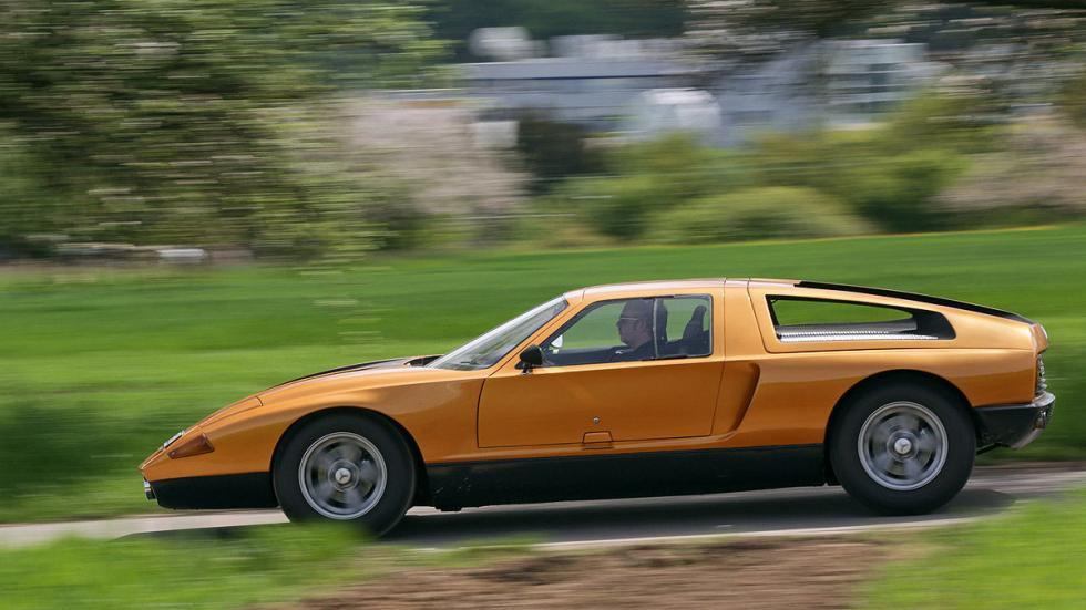 Mercedes C 111 lateral