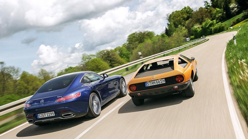 Comparativa ayer y hoy: Mercedes C 111 vs AMG GT S zagas