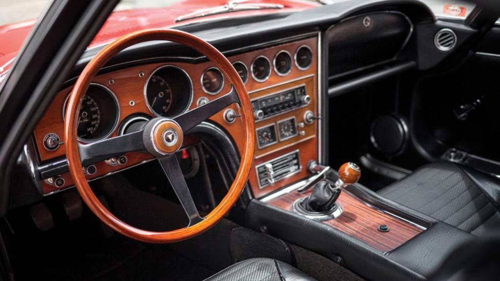 Subasta Toyota 2000GT de 1967 interior