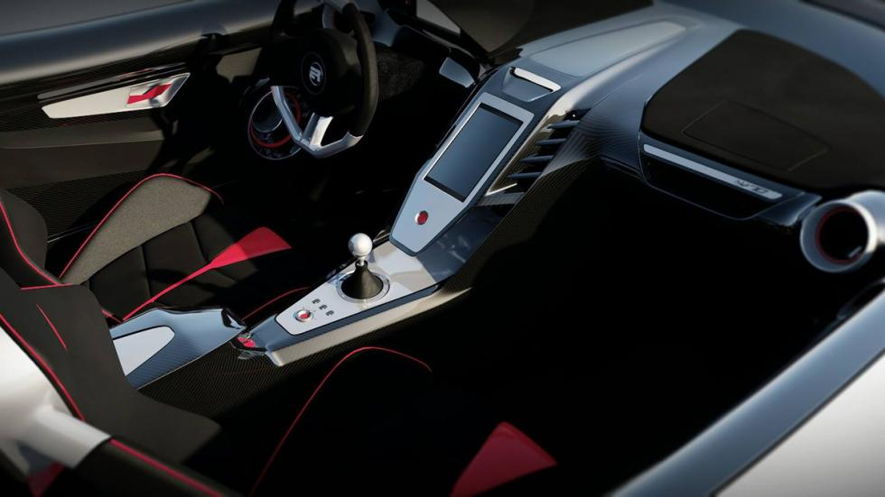 ER W70 deportivo americano interior