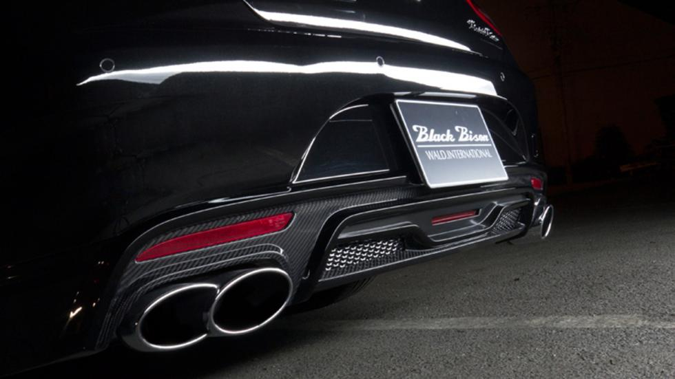 Mercedes Wald Clase S Black Bison Coupe escapes