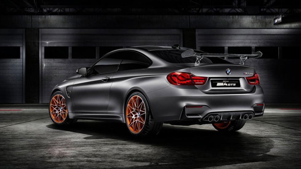BMW M4 GTS concept trasera