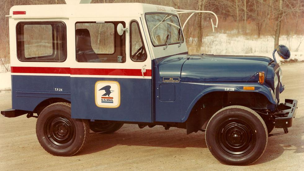 Jeep Dispatcher delantera
